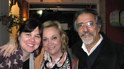 Nani, Olga e Santiago