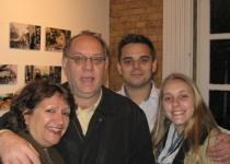 Marga, Flavio, Vitória e Chico