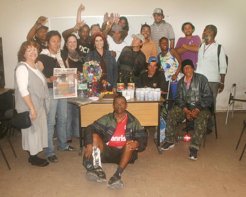 Jornal Boca de Rua completa 13 anos  e ganha apoios nacional e internacional