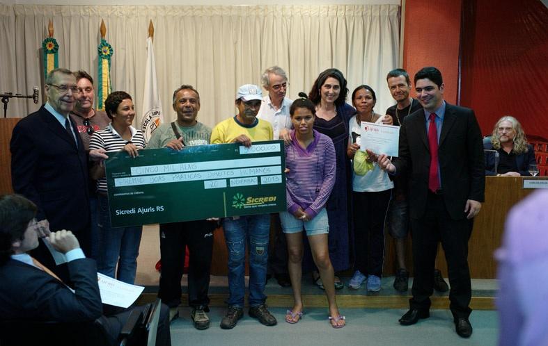 Boca de Rua recebe prêmio Ajuris