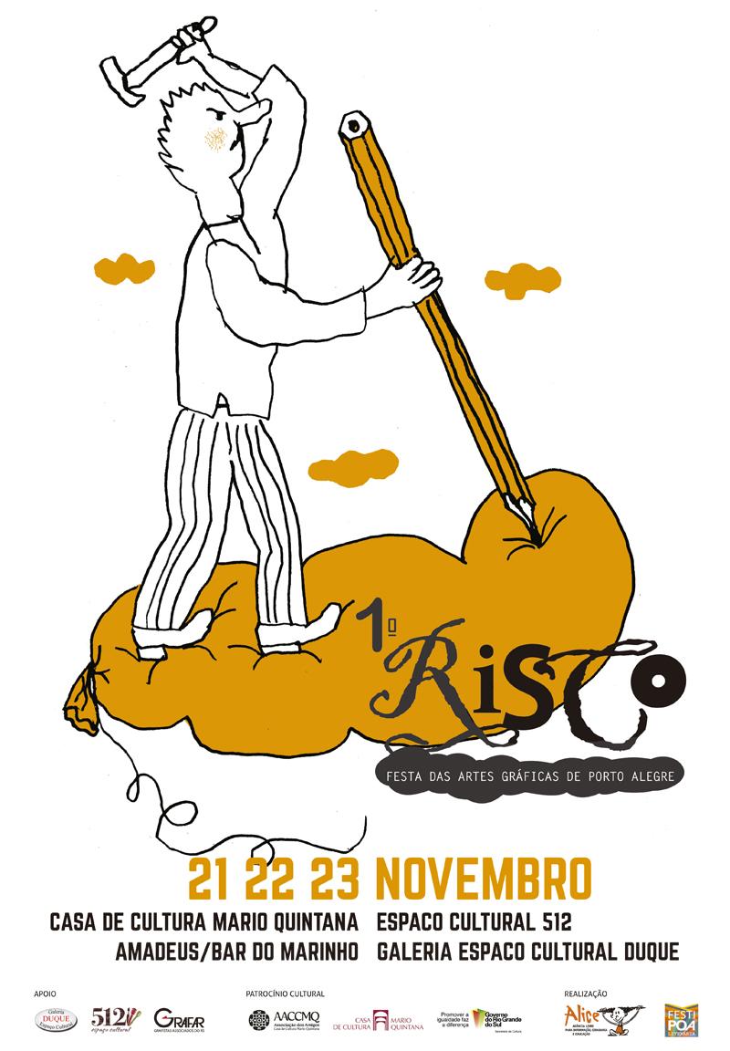 """""""Risco"""" festeja as artes gráficas"""