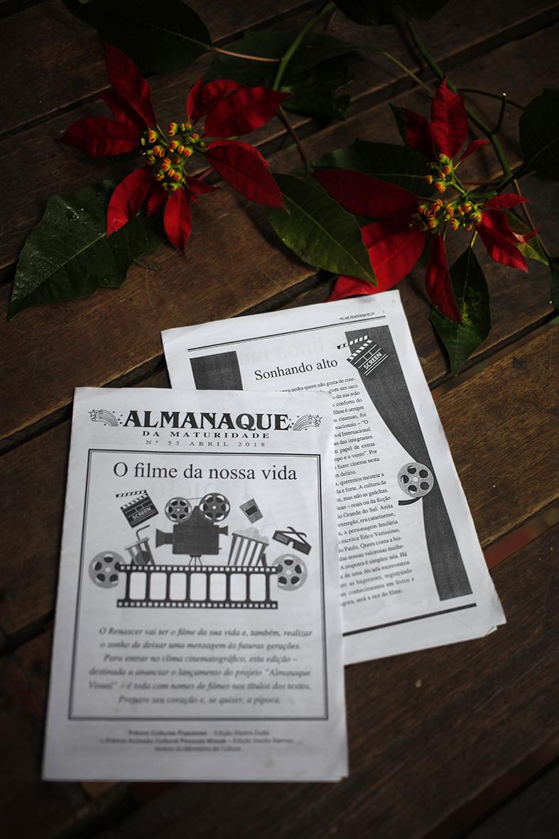 Grupo Renascer de Terceira Idadevai filmar Almanaque Visual