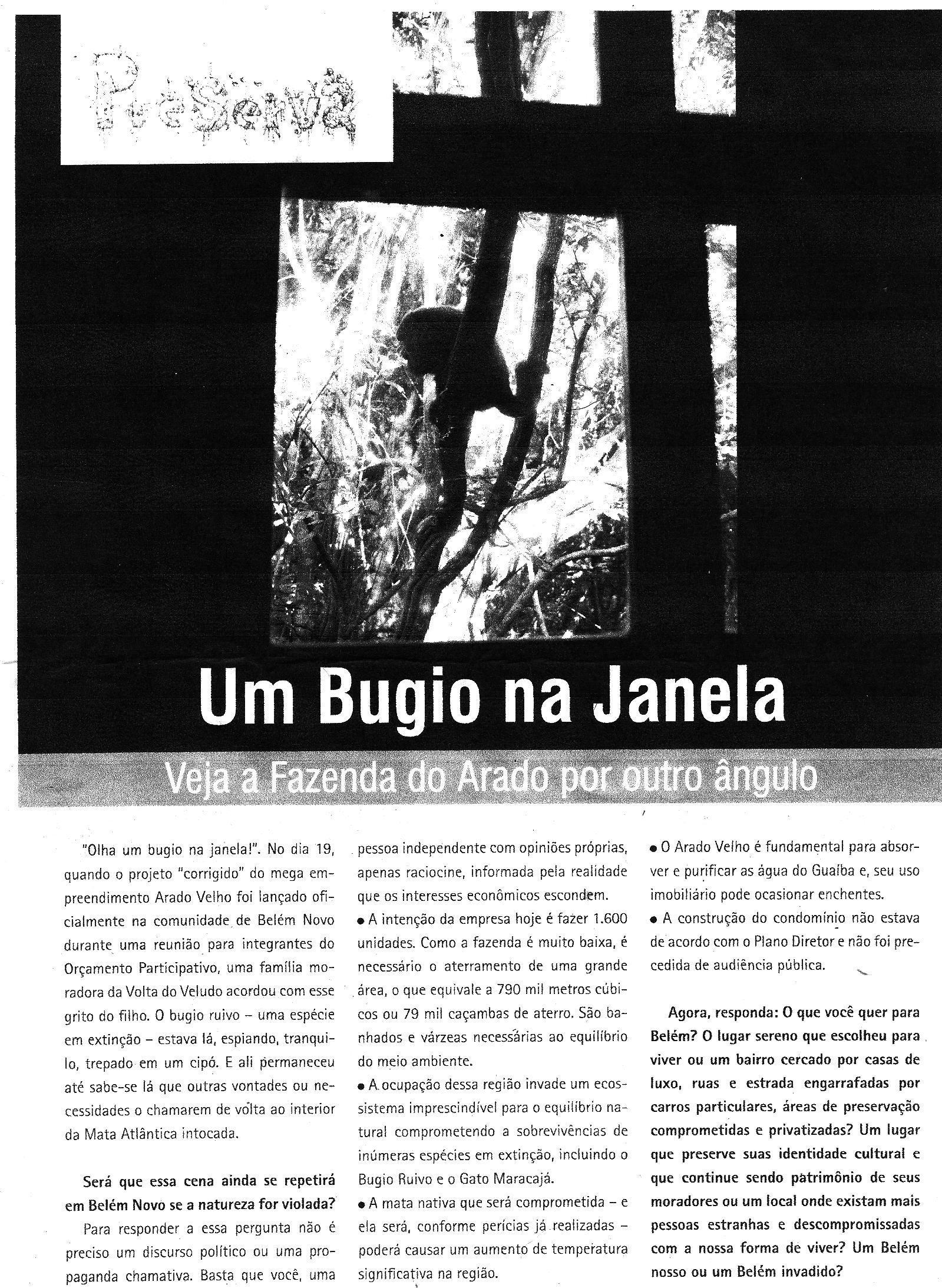 Alice faz parceria com Movimento Preserva Belém