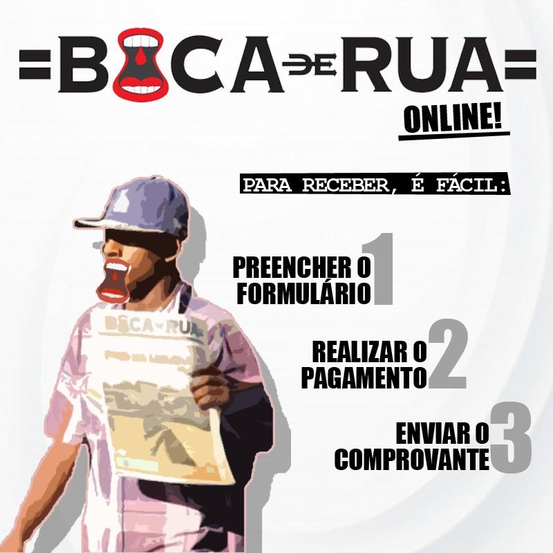 Boca de Rua vira online em tempos de pandemia